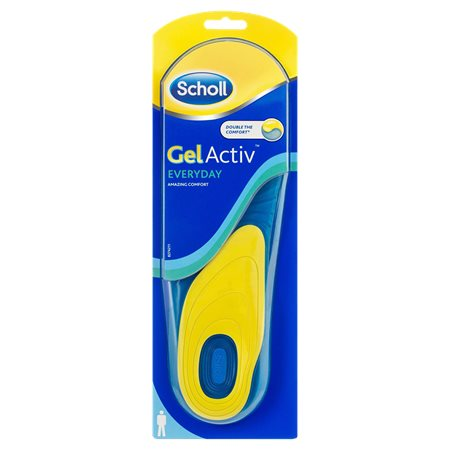 SCHOLL GELACTIV INSOLES EVERY DAY FOR MEN