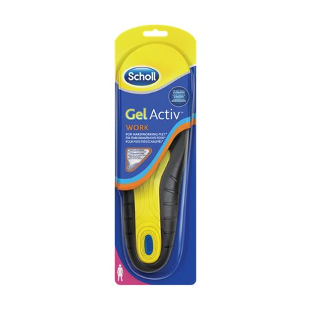 SCHOLL GELACTIV INSOLES WORK FOR WOMEN